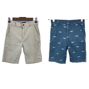 2 Pair Boy's Children's Place Chino Shorts